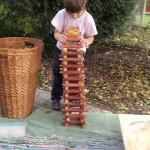 Csutkavár építés